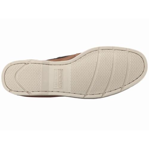 Giày Da Nam Sperry Top-Sider Leeward 2-Eye Nâu Hàng Hiệu