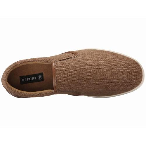 Giày Lười Vải Report Baldo Nâu Xách Tay