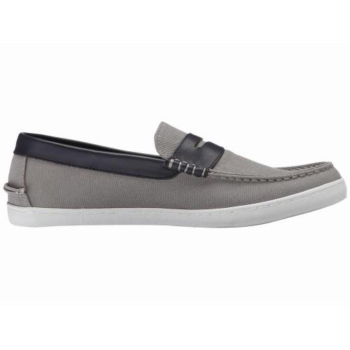Giày Slip-On Vải Cole Haan Nantucket Xám Chính Hãng