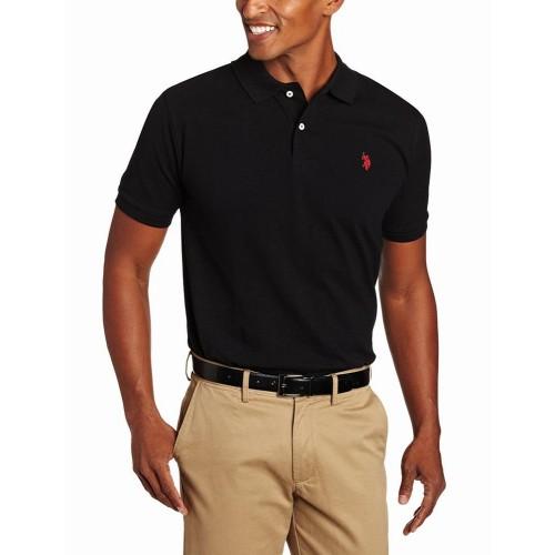 Áo Phông U.S. Polo Assn. Nam Classic Đen Chính Hãng