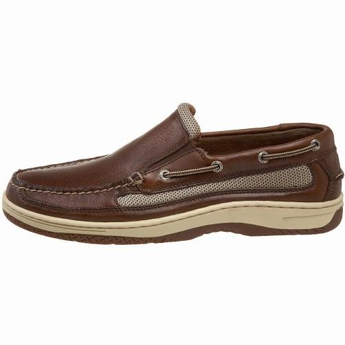 Giày Lười Sperry Top-Sider Nam Billfish Da Nâu Xách Tay