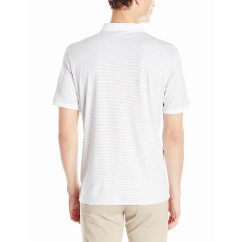 Áo Phông Calvin Klein Nam Liquid Cotton Trắng Hàng Hiệu