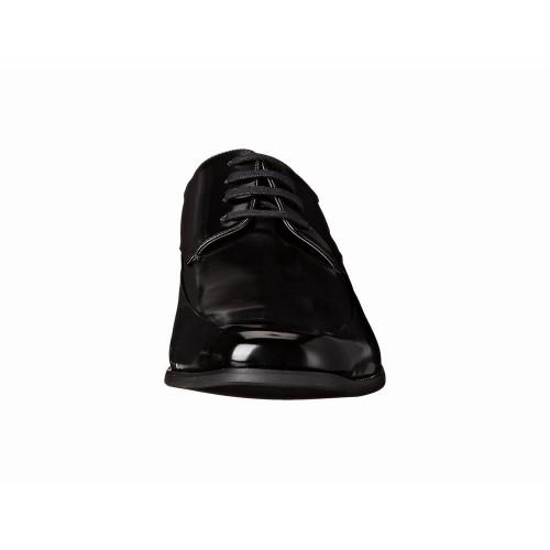 Giày Tây Calvin Klein Nam Carwin Da Đen Bóng Hàng Hiệu