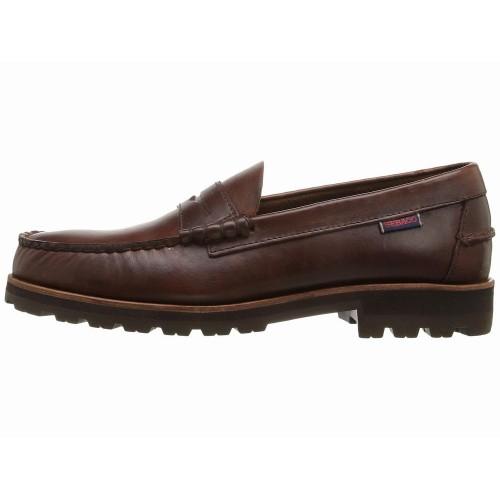 Giày Da Lười Sebago Nam Vershire Da Nâu Chính Hãng