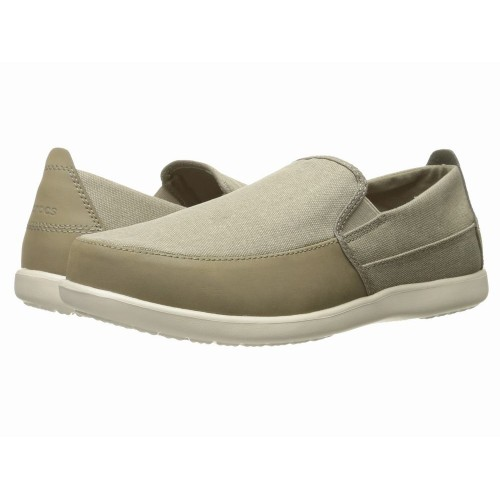 Giày Vải Crocs Santa Cruz Deluxe Slip-On Chính Hãng