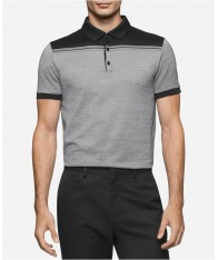 Áo Phông Calvin Klein Nam Colorblocked Jacquard Polo
