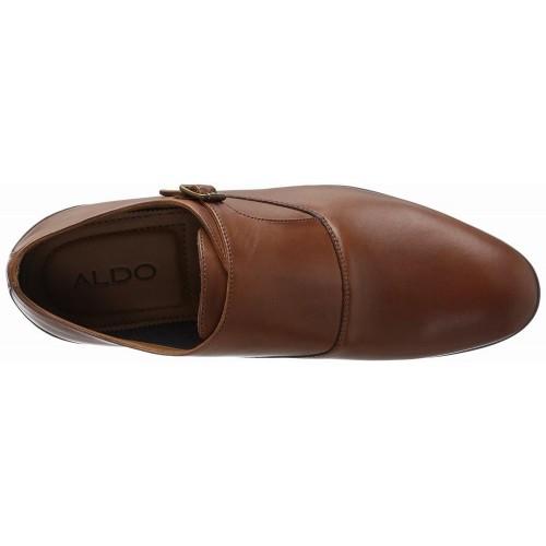 Giày Tây Aldo Nam Sledd Monk Da Nâu Cao Cấp