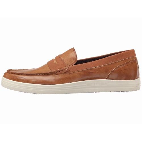 Giày Lười Thể Thao Ben Sherman Payton Da Nâu