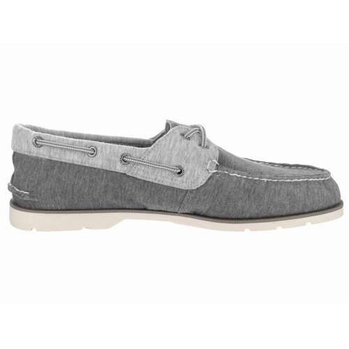 Giày Vải Nam Sperry Top-Sider Leeward X-Lace Xám Hàng Hiệu