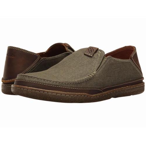 Giày Mọi Nam Clarks Trapell Form Vải Cao Cấp
