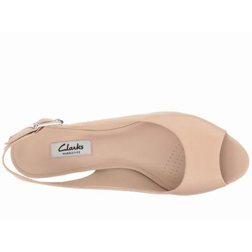 Giày Sandal Gót To Clarks Kelda Spring Hàng Hiệu