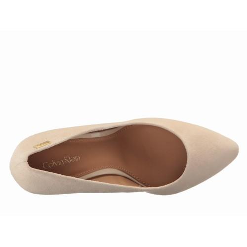 Giày Đế Xuống Calvin Klein Celeste Da Lộn Hàng Hiệu