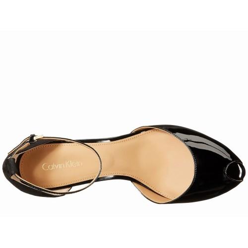 Giày Sandal Cao Gót Calvin Klein Saiden Hàng Hiệu
