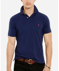Áo Phông Polo Ralph Lauren Classic Mesh Navy Cao Cấp