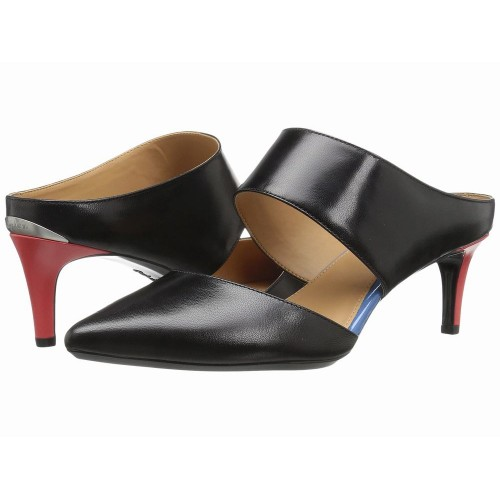 Giày Gót Vừa Nữ Calvin Klein Paiden Quai Ngang