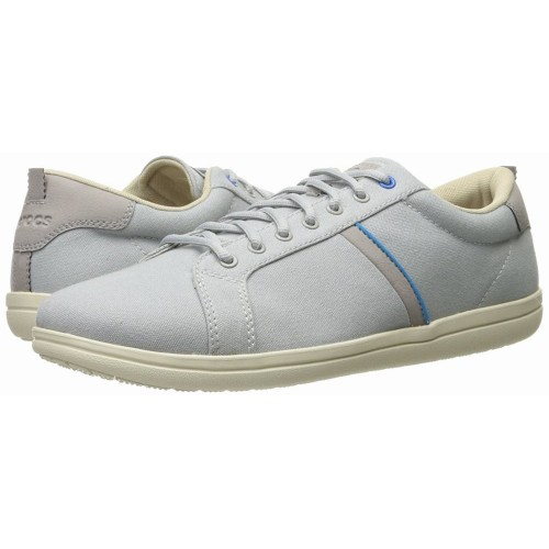 Giày Sneaker Vải Crocs Torino Xám Nhạt Hàng Nhập Mỹ