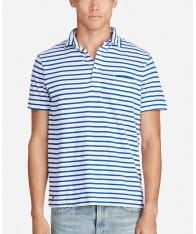 Áo Thun Polo Ralph Lauren Nam Jersey Sọc Ngang Trẻ Trung