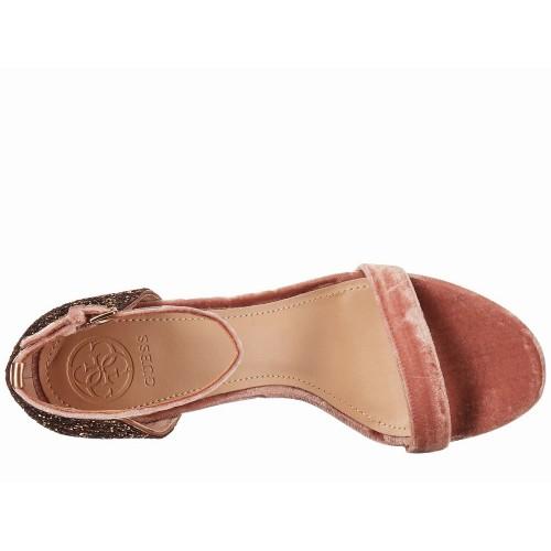 Giày Cao Gót Nữ GUESS Ánh Kim Bambam Hàng Đẹp