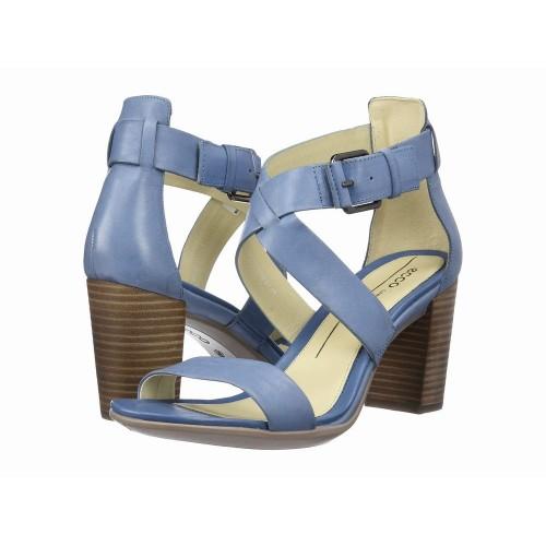 Giày Sandal Nữ ECCO Gót Thô Shape Hàng Nhập