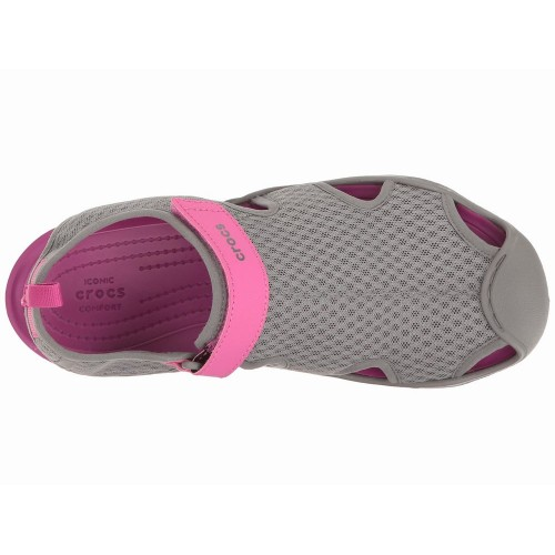 Giày Thể Thao Sandal Crocs Nữ Swiftwater Bền Đẹp Chính Hãng