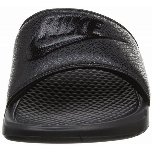 Dép Nam Nike Benassi Màu Đen Hàng Nhập Chính Hãng