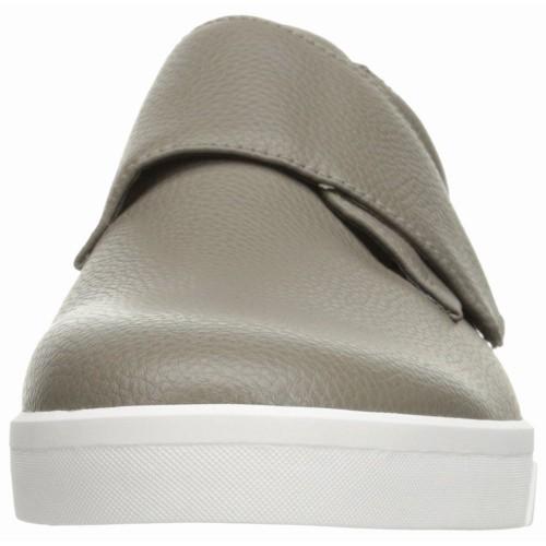 Giày Sneaker Chất Da Calvin Klein Xám Tumb Hàng Chính Hãng