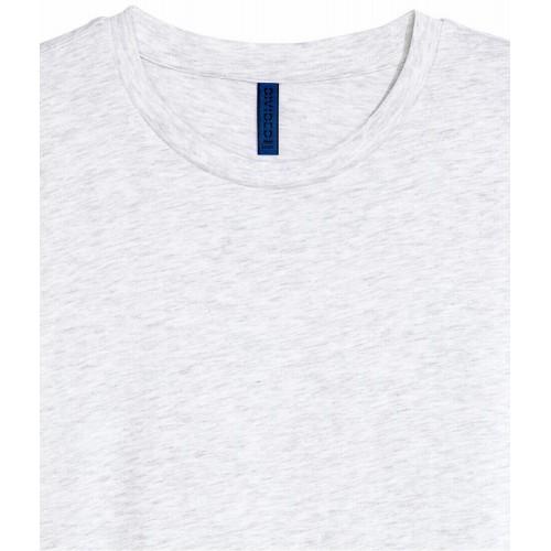 Áo Thun Nam HM cổ tròn màu trắng tay ngắn chính hãng