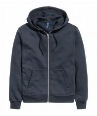 Áo Khoác Nam H&M Màu Xanh Trẻ Trung Hàng Nhập