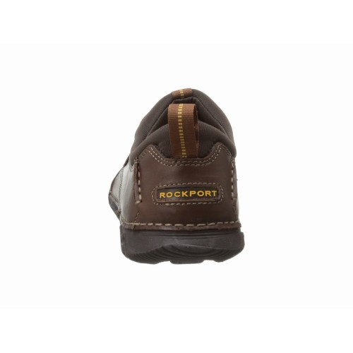 Giày Lười Rockport Nam Lite Chất Da Nâu Cao Cấp