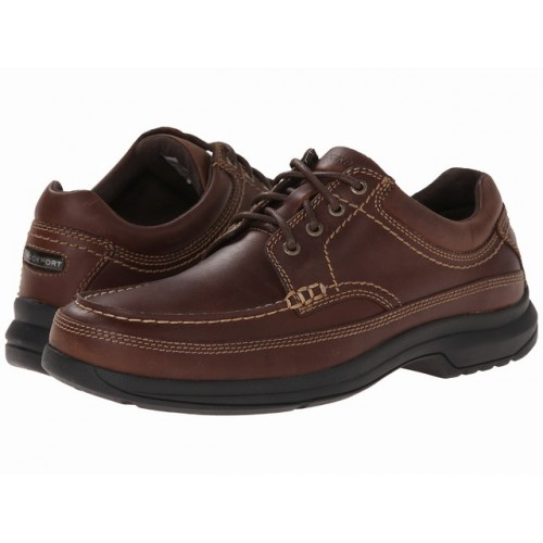 Giày Da Nam Cao Cấp Rockport Barrow Da Tự Nhiên