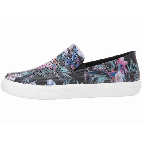 Giày Lười Nữ Crocs Chất Nhựa Graphic Họa Tiết Hoa Lá