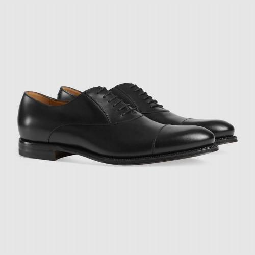 Giày Tây Nam Gucci Cột Dây Cổ Điển Hàng Cao Cấp