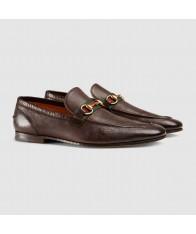 Giày Lười Nam Gucci Horsebit Lịch Lãm Hàng Chính Hãng