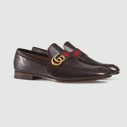 Giày Lười Nam Gucci Logo GG Nổi Bật Đẹp Êm Ái