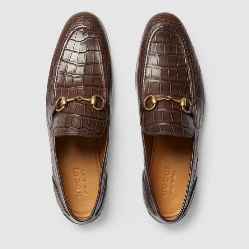 Giày Lười Nam Gucci Da Cá Sấu Thật Cao Cấp Chính Hãng