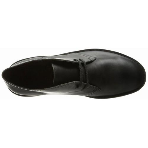 Giày Boot Cổ Thấp Nam Clarks Bushacre Chất Da Hàng Hiệu