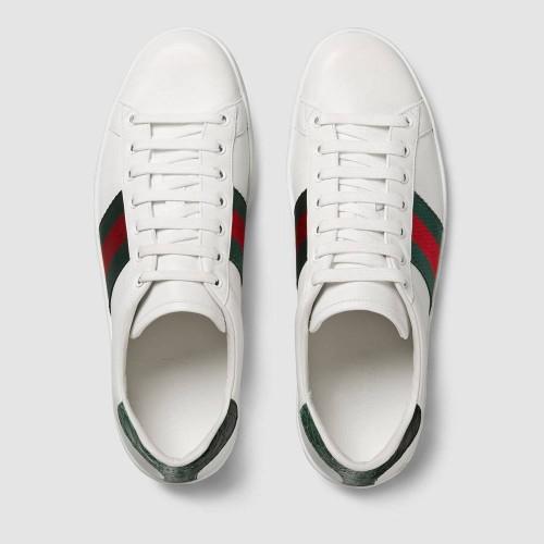 Giày Sneaker Gucci Nam Ace Đế Họa Tiết Web Hàng Cao Cấp