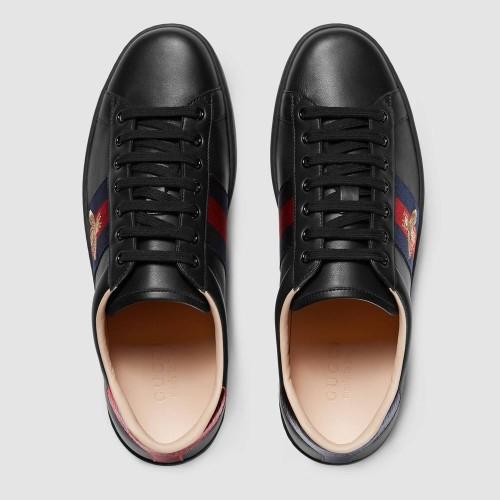 Giày Sneaker Gucci Họa Tiết Thêu Ong Đẹp Chính Hãng