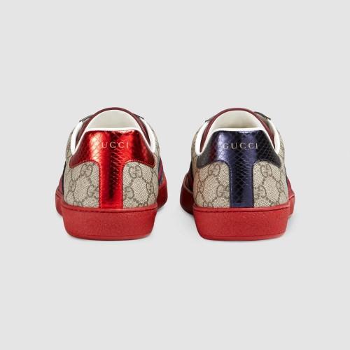 Giày Thể Thao Gucci Nam Chất Vải Logo GG Hàng Nhập