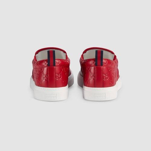 Giày Thể Thao Gucci Da Họa Tiết GG Thời Trang