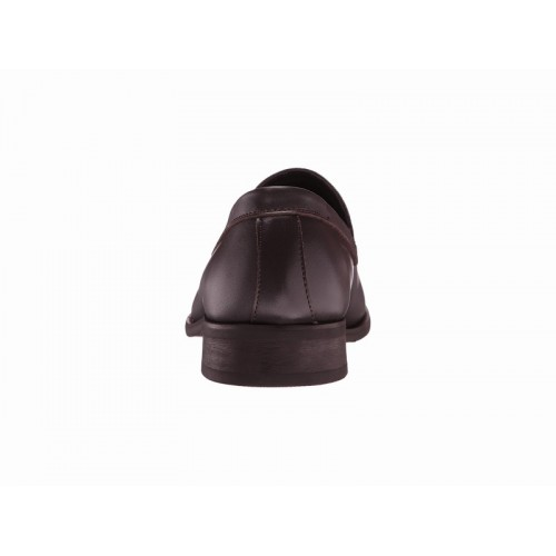 Giày Tây Nam Calvin Klein Chất Da Nâu Rufus Hàng Chính Hãng