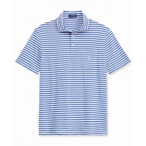 Áo Thun Polo Ralph Lauren Kẻ Sọc Ngang Dáng Classic