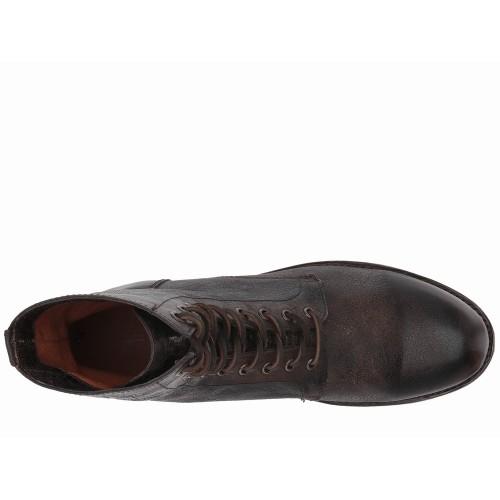 Giày Cổ Cao Frye Will Cột Dây Chất Da Oiled Chính Hãng