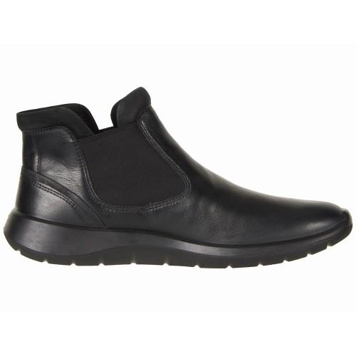 Giày Boot Nữ ECCO Đế Thấp Chelsea 5 Êm Ái