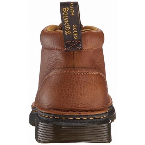 Giày Tây Cao Cổ Dr. Martens Lea 4-Eye Da Nâu Cao Cấp