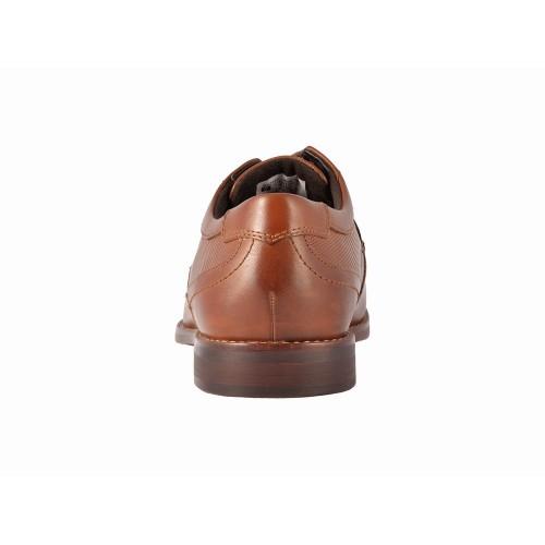 Giày Oxford Nam Rockport Cổ Điển Pupose Chất Da Nâu