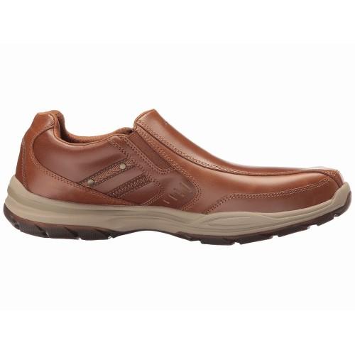 Giày Lười Skechers Nam Chất Da Nhẹ Êm Elment Chính Hãng