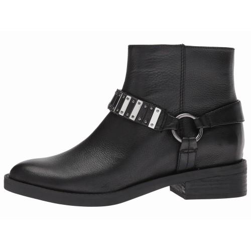 Giày Bootie Nine West Đế Thấp Tanit Chất Da Êm Ái
