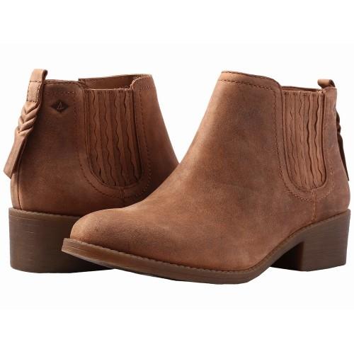 Giày Boot Cổ Thấp Nữ Sperry Bree Chất Da Nâu Chính Hãng
