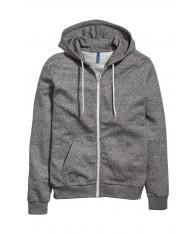 Áo Khoác Hooded Có Nón Khóa Kéo Hàng Nhập H&M